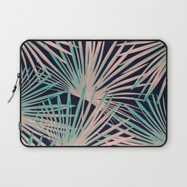 Tropical Fan Palm Leaves #5 #tropical #decor #art #society6 Laptop Sleeve