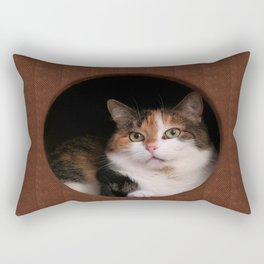 The Kitten In Me Rectangular Pillow