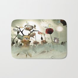 Delicious Light and Transparency  Bath Mat