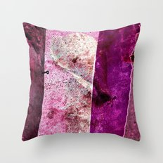 SHELL & WALL - abstract Throw Pillow