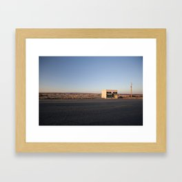 Donald Judd, Marfa TX Framed Art Print