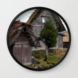 Shirakawa-gō 1 Wall Clock