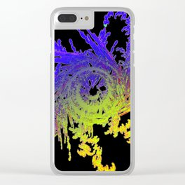 Daily Design 81 - Deep Space Construct Clear iPhone Case