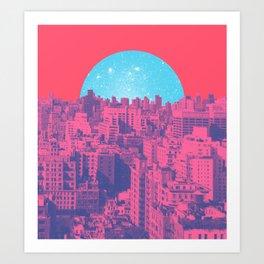 Metropolis Landing Art Print