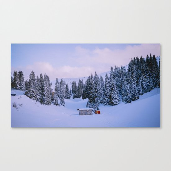 In Middle Of Everywhere Canvas Print