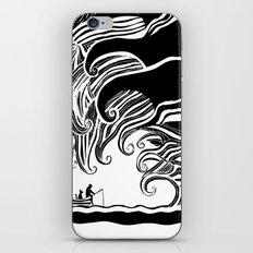 Dark Wave iPhone Skin