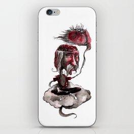 Open Your Head iPhone Skin