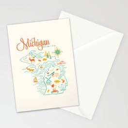 Michigan State Love  Stationery Cards