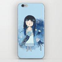 medusa iPhone & iPod Skins featuring Medusa by Kristina Sabaite