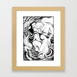 Lesbians Framed Art Print