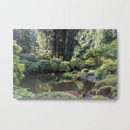 Portland Japanese Garden Metal Print