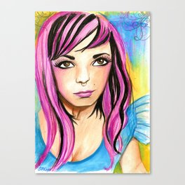 Audacious Audrey Canvas Print