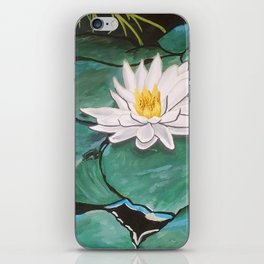 Lily of the Water iPhone Skin