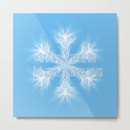 Winter Holiday #2 Metal Print