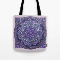 batik Tote Bags featuring Batik Meditation  by DebS Digs Photo Art