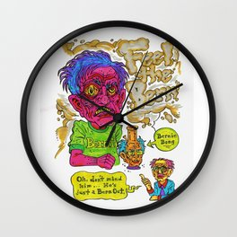 Bern Out Wall Clock