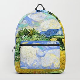 Vincent van Gogh - Wheat Field with Cypresses - Digital Remastered Edition Backpack