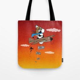 Muso Milkwar Aircraft Tote Bag