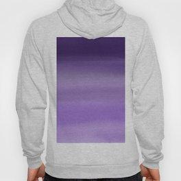Modern painted purple lavender ombre watercolor Hoody