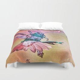 Birds In Armor 2 Duvet Cover