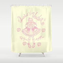 Loli Vader Pink Shower Curtain