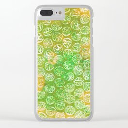 Abstract No. 237 Clear iPhone Case