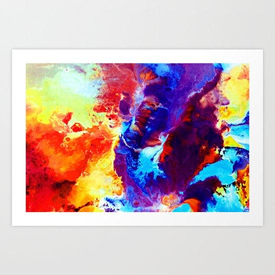 Diffuse Art Print