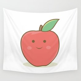 I'm a happy apple :) Wall Tapestry