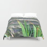 plants Duvet Covers featuring Plants by Martha Bräuer