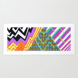Tranzcape Art Print
