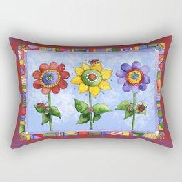 The Three Amigos III Rectangular Pillow