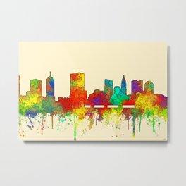 Columbus, Ohio Skyline - SG Metal Print