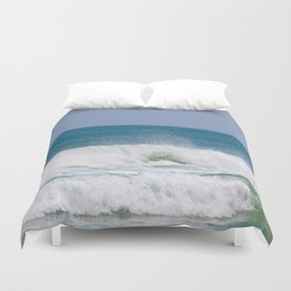 Shaping the Shoreline Duvet Cover