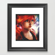 Vanille painting Framed Art Print
