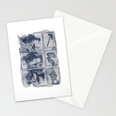 Vigilante Blueprint Stationery Cards