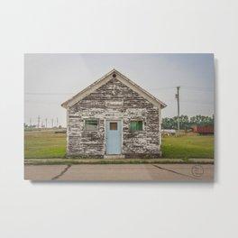 Main Street Building, Regan, North Dakota 3 Metal Print