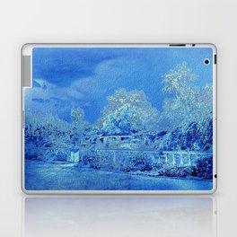 Wedgewood Blue English Garden Laptop & iPad Skin