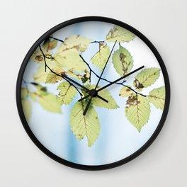 bight summer laves Wall Clock