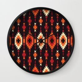 American Native Pattern No. 172 Wall Clock