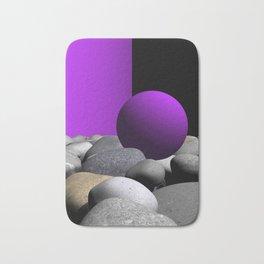 pink or violet -9- Bath Mat