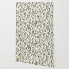 joyful feathers cream Wallpaper