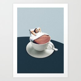 Morning rituals Art Print
