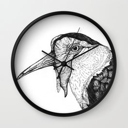 Spur Winged Plover Wall Clock