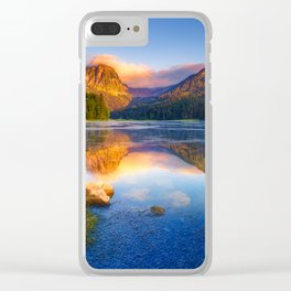 Revolutional Lake Clear iPhone Case