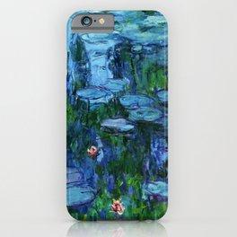 Claude Monet Water Lilies / Nymphéas deep iPhone Case