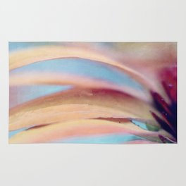 Coneflower Abstract Rug