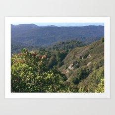 Castle Rock State Park - California Art Print