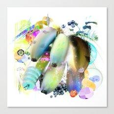 Banana Cut Canvas Print