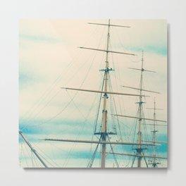 Mast II Metal Print