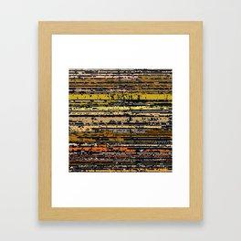 Raster 4 Framed Art Print